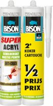 Bison Super acrylaat schilderskit wit A2 300 ml