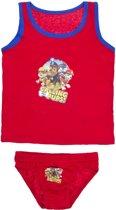 Nickelodeon Paw Patrol - ondergoedset jongens - rood - 6/8 jaar