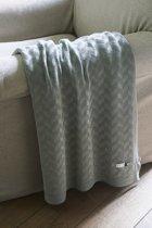 Riviera Maison  Pure Pleasure Throw - Plaid - 170x130 - groen - Katoen