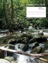 Stream Composition Notebook, Wide Ruled