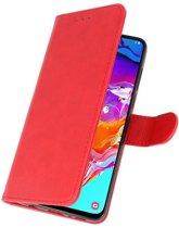 Samsung galaxy a7 20150 Rood | bookstyle / book case/ wallet case Wallet Case Hoesje  | WN™