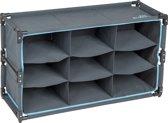 Bo-Camp Kast/organizer - 9-vaks - Multifunctioneel - 84x30x51 Cm
