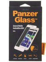 PanzerGlass Premium Screenprotector voor General Mobile GM8 - Wit