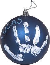 Baby Art My Christmas Fairy Kerstbal - Blue