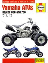 Yamaha Raptor 660 & 700 ATVs (01 - 12)