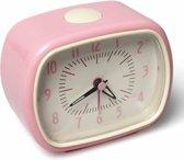 Rex London Roze Vintage Retro Wekker - Classic Alarm Clock