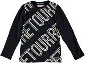 Retour Jeans Jongens T-shirt - Black - Maat 158/164