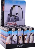 Aansteker prof 50 pinguin design