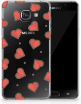 Samsung Galaxy A3 2016 TPU Hoesje Design Hearts