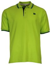 Donnay Polo Tipped - Sportpolo - Heren - Maat S - Lime groen