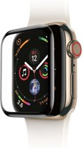 Baseus Full Cover Tempered Glass Apple Watch 40mm Protector - Black