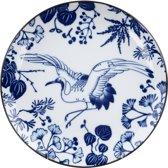 Tokyo Design Studio - Flora Japonica Plate 16x2cm Crane