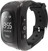 Kinder Smartwatch met GPS, SOS, SMS en belfunctie | Zwart