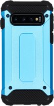 iMoshion Rugged Xtreme Backcover Samsung Galaxy S10 hoesje - Lichtblauw