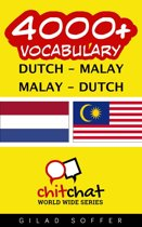 4000+ Vocabulary Dutch - Malay
