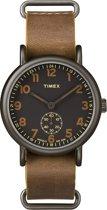 Timex Weekender Sub-second TW2P86800 - Horloge - Bruin - Ø 40 mm
