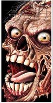 Zombie deurversiering Halloween - Feestdecoratievoorwerp