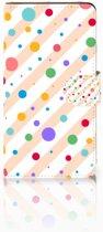 Huawei Ascend G700 Boekhoesje Design Dots