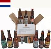Bierpakket 9 streekbieren Nederland