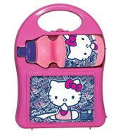 Hello Kitty Hardcover met lunchbox en sportfles