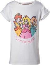 Nintendo - Team Princess Girl Kids T-shirt
