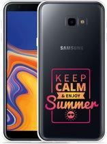Galaxy J4 Plus Hoesje Summer Time