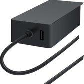 Microsoft Surface 44W Power Supply netvoeding & inverter Binnen Zwart