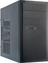 Chieftec HT-01B-OP Mini-Toren Zwart computerbehuizing