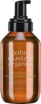John Masters Organics Lime & Spruce foaming hand & body wash