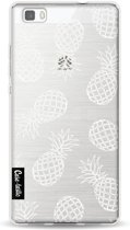 Casetastic Softcover Huawei P8 Lite - Pineapples Outline