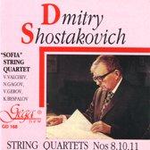 String Quartets No.8,10,