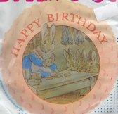 folieballon - Peter Rabbit - Happy Birthday