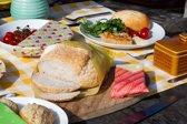 BeeBee Wraps Set van 3 MEDIUM Bijenwas Voedsel Wraps | Milieubewust en duurzaam alternatief voor vershoudfolie