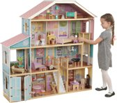 KidKraft Grand View Mansion poppenhuis met EZ Kraft Assembly™