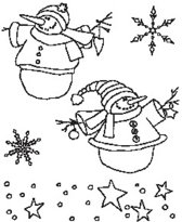 Cs0836 Clear stamp Country Christmas