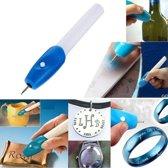 Graveerapparaat / Graveermachine - Elektrische Graveerpen / Graveer pen / Metaal / Glas / Hout / Plastic