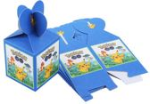 6 stuks Pokemon snoepdoosjes / traktatie doosjes