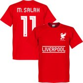 Liverpool Team M.Salah T-shirt - Rood - XS