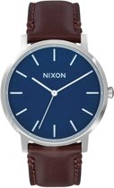 Nixon Porter A1058879 - Horloge - Leer - Bruin - 40mm