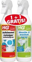 HG schuim + douche&wasbakspray