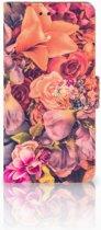 Samsung Galaxy S7 Edge Boekhoesje Design Bosje Bloemen