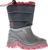 Wintergrip Snowboots - Maat 26-27 - Unisex - grijs/roze (valt klein)