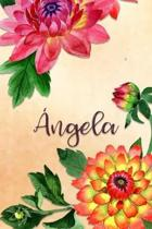 Angela: Personalized Journal for Her (Su Diario)