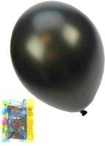 Kwaliteitsballon metallic zwart