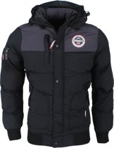 Geographical Norway - Heren Winterjas - Volva - Zwart