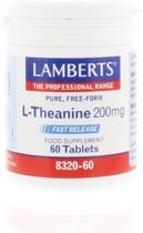 Lamberts L-Theanine 200 mg - 60 Capsules - Voedingssupplement