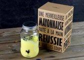 Cookut Mayozen Mayonaiseshaker - Incl 1 Shakebal - Transparant