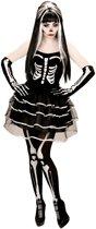 Skelet tutu kostuum voor vrouwen - Verkleedkleding
