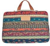 Kinmac - Laptop Sleeve tot 14 inch - 37 x 26 x 1,5 cm - Bohemian Style - Multicolor