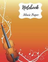 Music Paper Notebook